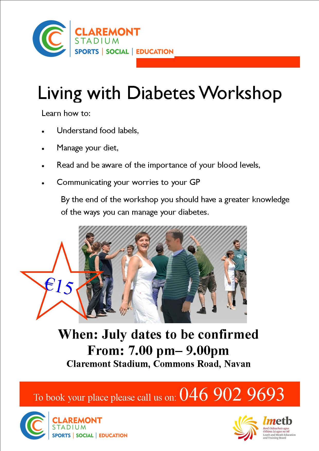 Living with Diabetes poster