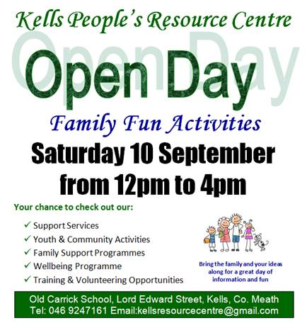 Kells People's Resource Centre Open Day 2016